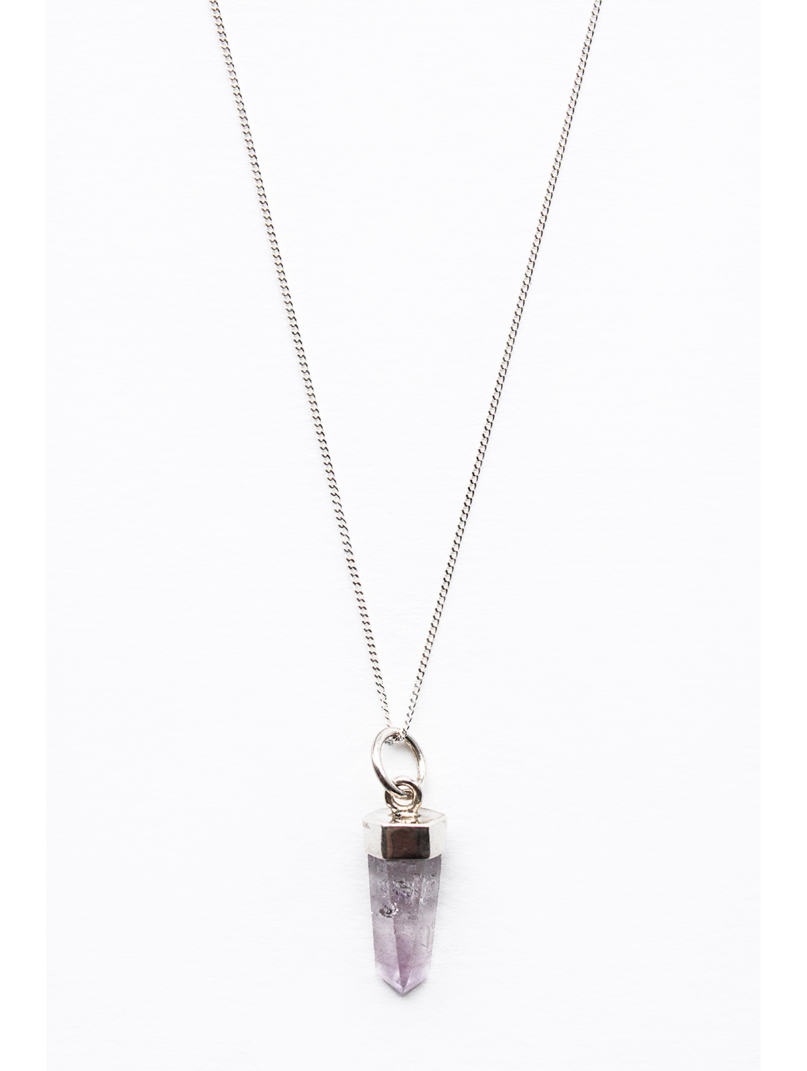Amethyst-point-sterling-silver-necklace