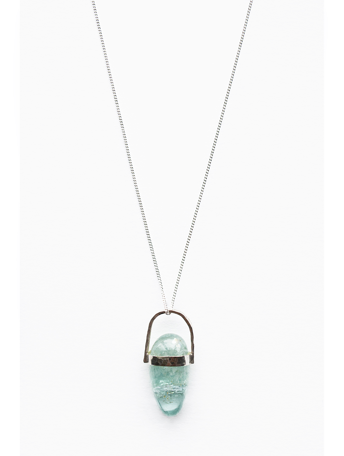 aquamarine-pebble-sterling-silver-necklace